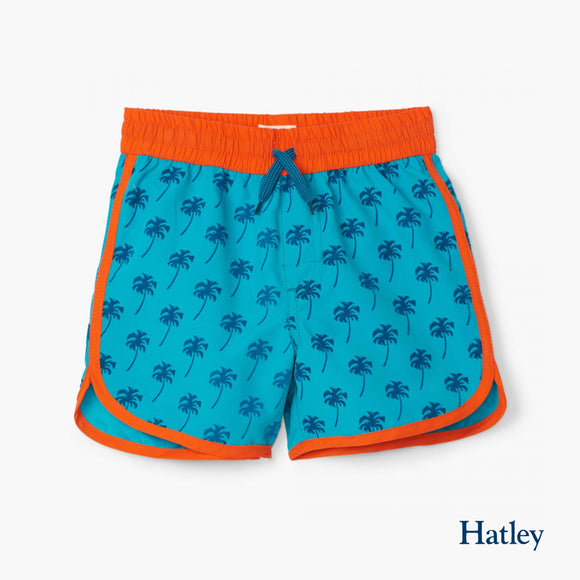 Tropical Palms Swim Shorts