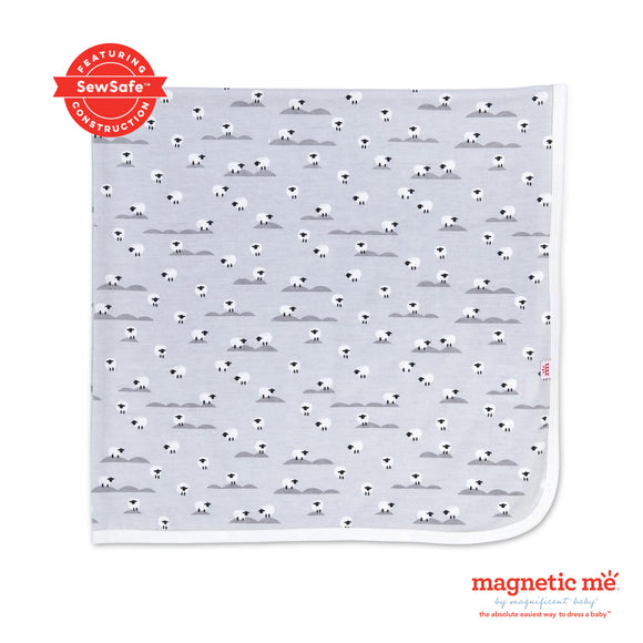 Sheeps Meadow Modal Swaddle Blanket