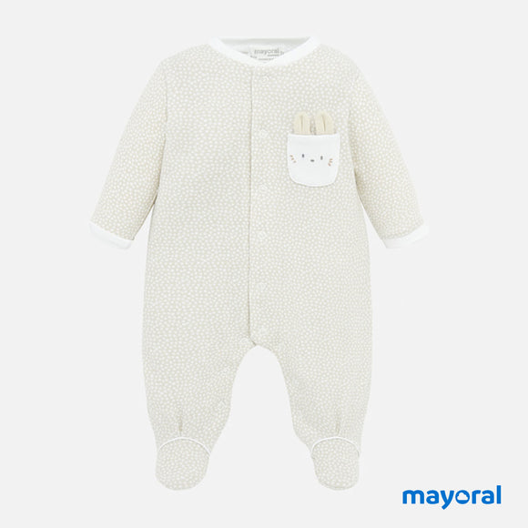 Stone Neutral Onesie