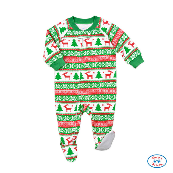 Reindeer Footed Pajamas