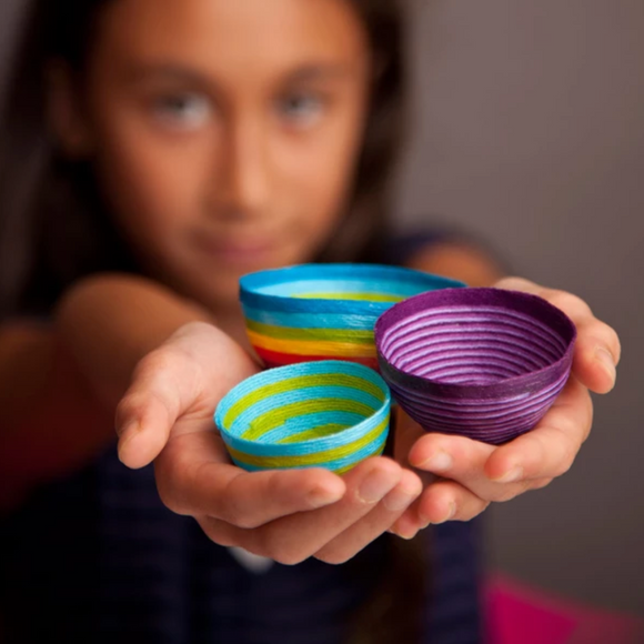 Craft-tastic Mini Thread Bowls