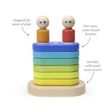 Tegu Rainbow Magnetic Floating Stacker