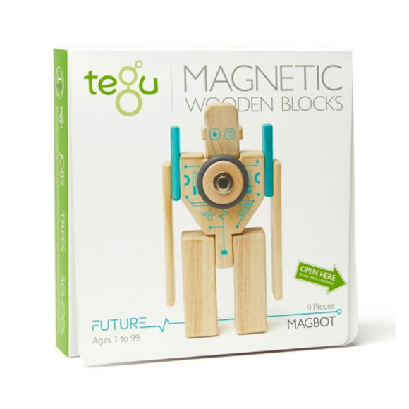 Tegu Magbot Blocks Set