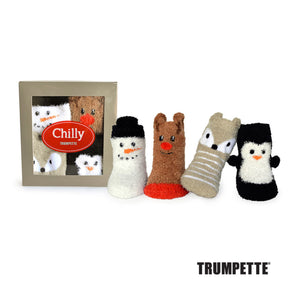 Trumpette Chilly Socks - Set of 4 Pairs