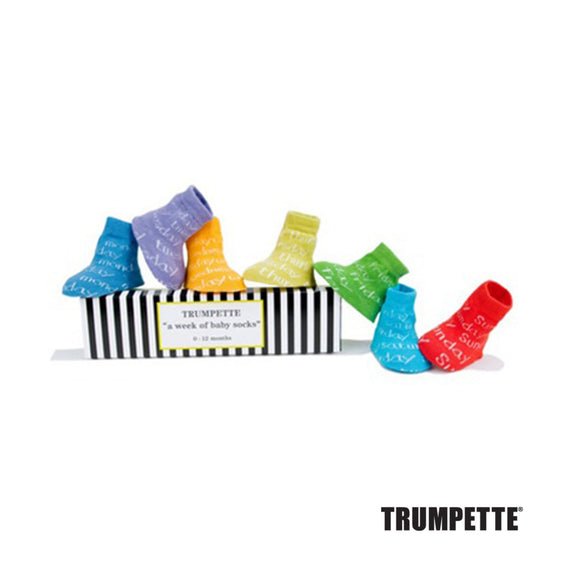 Trumpette Week of Baby Socks