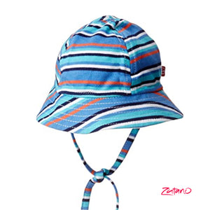 Multi-Strip Cotton Sun Hats