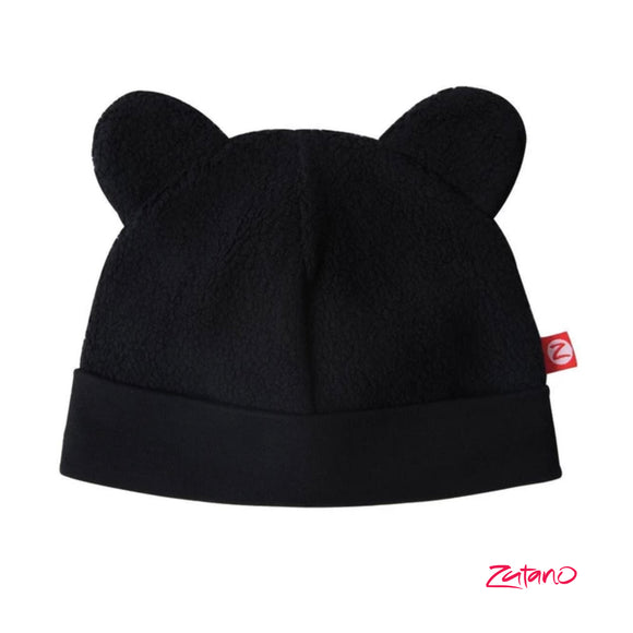 Cozie Fleece Baby Hat Black