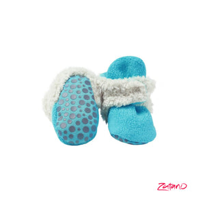 Cozie Furry Gripper Baby Booties