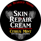Skin Repair Cream - Citrus Mint 4oz. - The Bearded Moose Company