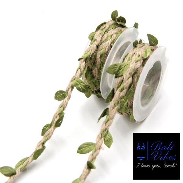 Bali Vibes 2m DIY Artificial Leaves Twine String