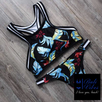 Bali Vibes Sexy High Neck Sports Bikini