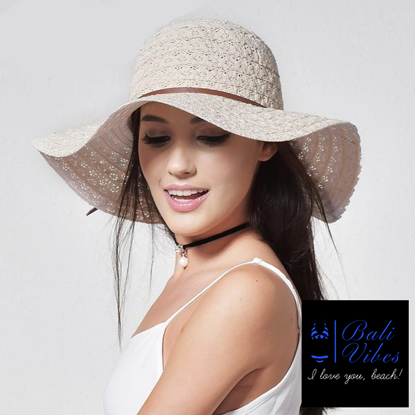 Bali Vibes Brimmed Straw Hat