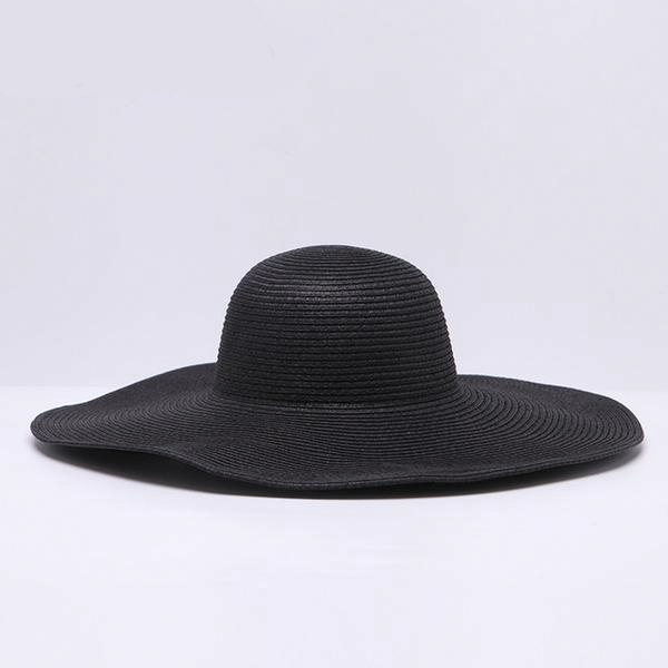 Bali Vibes Wide Brim Floppy Straw Hat