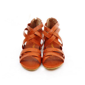 Bali Vibes Cross Strap Flat Sandals Size 34-43