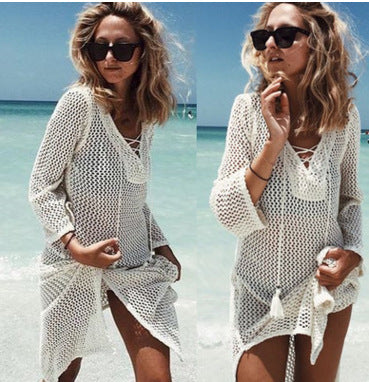 Bali Vibes Skirt Knitting Tunic Beach Dress