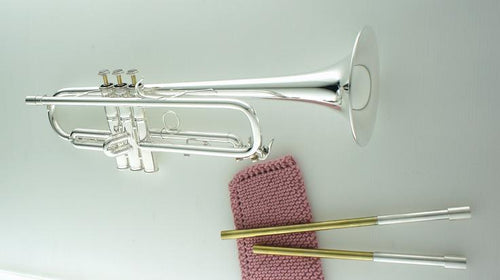 B flat trumpet by CarolBrass with interchangeable leadpipes