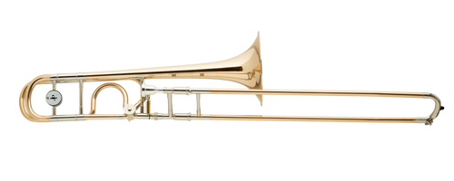 Tenor Trombone with F attachment by Packer (Michael Rath design open-wrap design)