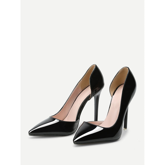 Pointed Toe | Pumps | Black