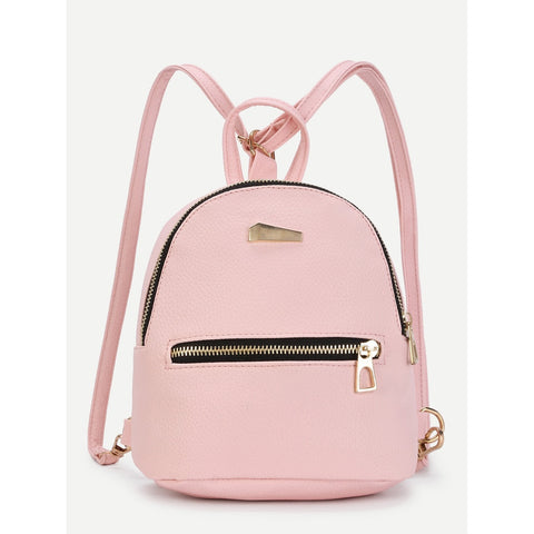 Stylish Detail | Small Backpack | Pink