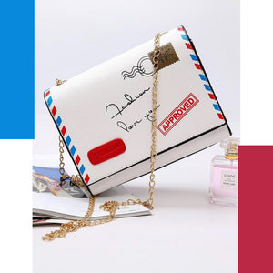 Classic Envelope |  Flap Bag / Purse | White