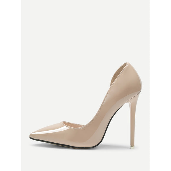 Pointed Toe | Pumps | Apricot