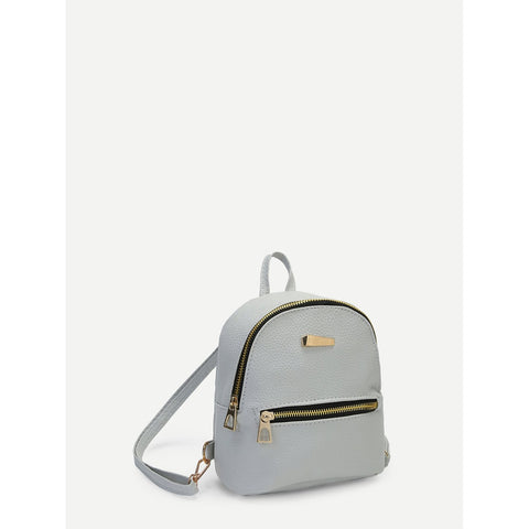 Stylish Detail | Small Backpack | Grey