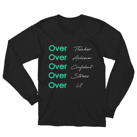 Over U | Long Sleeve T-Shirt | Black