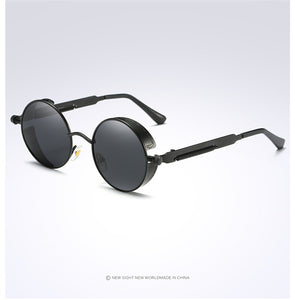 Steampunk Sunglasses | Retro Vintage | Black on Black