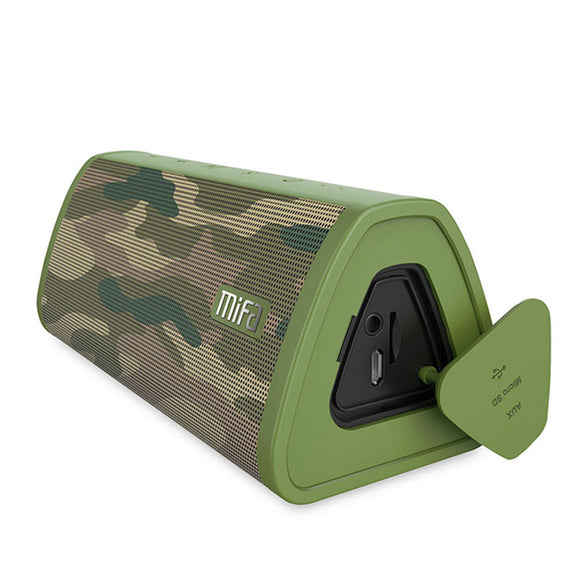 Portable Bluetooth Speaker | 10W Stereo System | Waterproof | Camo