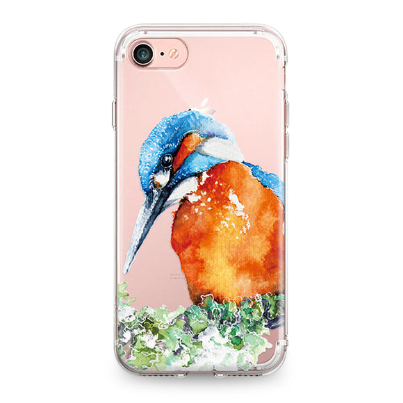 Beautiful Hummingbird | Soft Silicone |  For Iphone / 4 / 4S / 5 / 5S / SE / 5C / 6 / 6S / 7 Plus