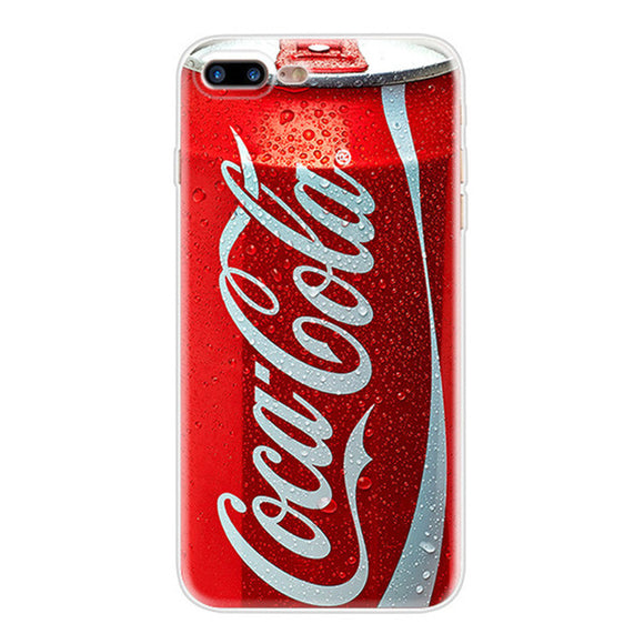 New Coca-Cola Can | Dirt-resistant Silicone Case |  iPhone 5S   / 6S / 6S Plus / 7 /  7 Plus / 8 / 8 Plus / iphone X