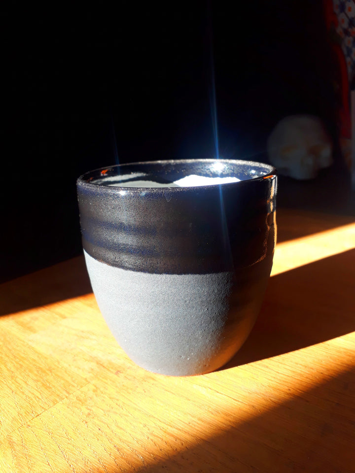 Limited Edition Black Ceramic Cup