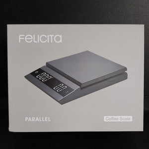 Felicita Parallel Bench Scales- White & Black