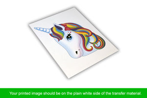 Printable Transfers For Light Materials HTV