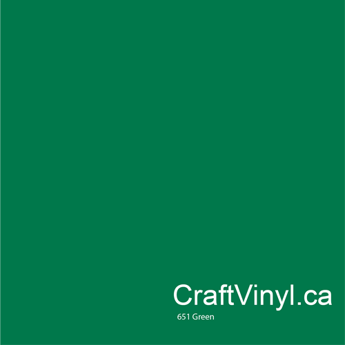 Oracal 651 Gloss Green Vinyl #061