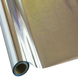 "StarCraft Electra Foil - 12"" x 25ft  Silver Pixie Dust"