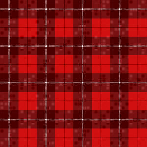 Plaid Red 2 Adhesive Vinyl