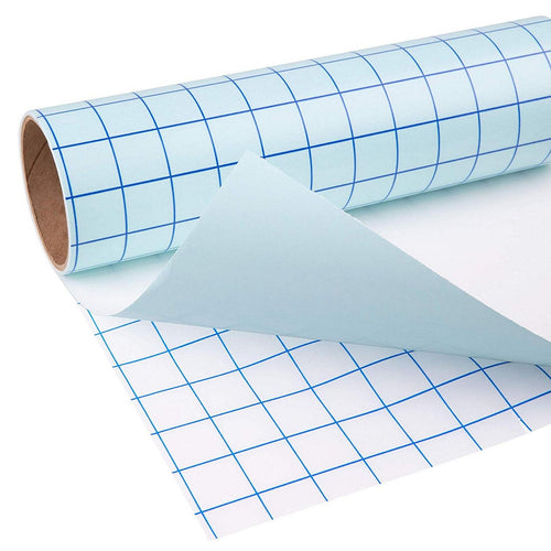 Craft Transfer Tape Blue Grid