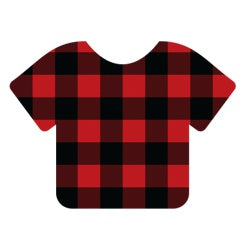 Siser EasyPatterns  Buffalo Plaid Red