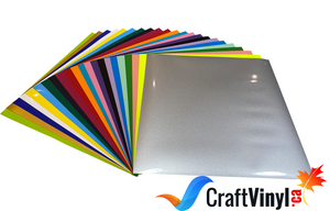 "Craft HTV Package 22 Colors 12"" x 12"" Sheets"