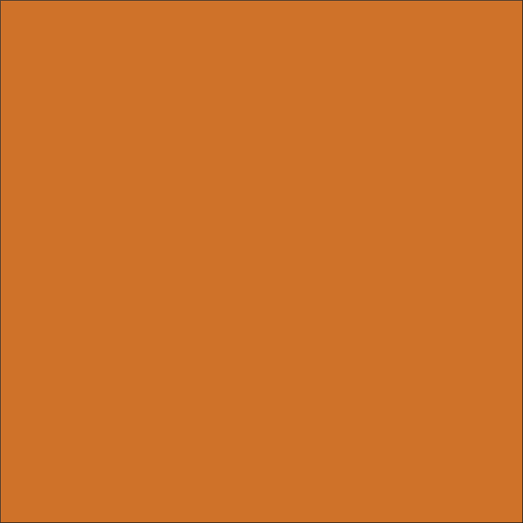 Craft Orange HTV Vinyl 12
