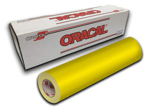 Oracal 651 Glossy Brimstone Yellow #025