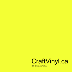 Oracal 631 Brimstone Yellow #025
