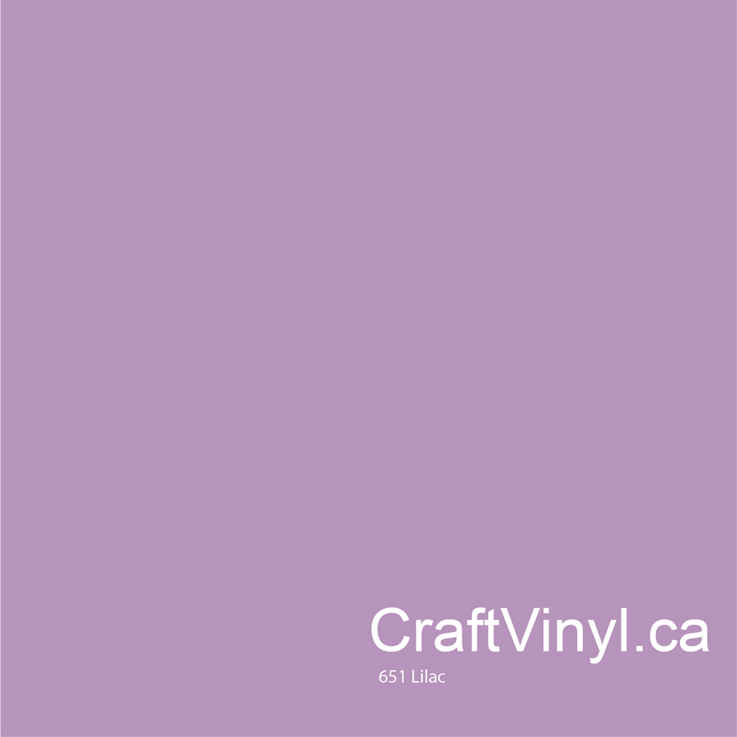 Oracal 651 Gloss Lilac Vinyl #042