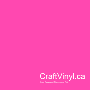 "Siser Easyweed  Fluorescent Pink 12"" x 12"" sheets"