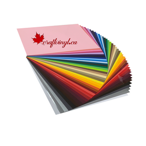 "Siser Easyweed HTV Package 39 Colors 12"" x 12"" Sheets"