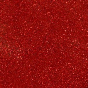 Siser Glitter Red Heat Transfer Vinyl