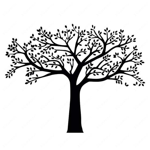 huge family tree wall decal the bargain butler