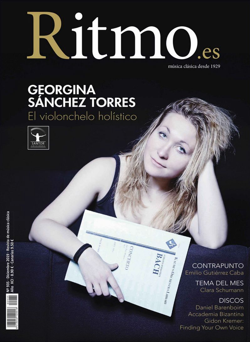 Spanish cellist Georgina Sanchez and her publishing company Santor Ediciones