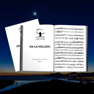 En la Holgura (Cello and piano). Georgina Sánchez Torres [Sheet Music] - Santor Ediciones